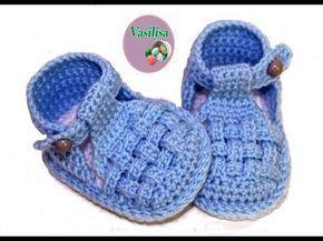 Diy Cómo Tejer Patucos Sandalia Para Bebe Patrones Gratis