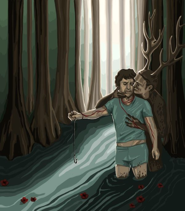 The Cannibal Factory #Hannibal #Fannibal Art. This one breaks your heart