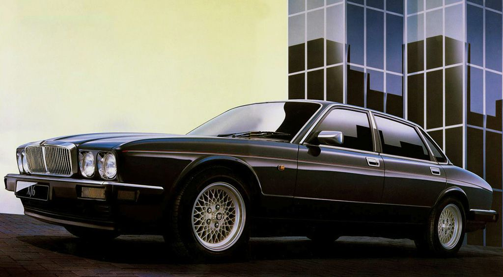 Jaguar Xj6 3 2 Xj40 Produced During 15 Years 1986 1994 With