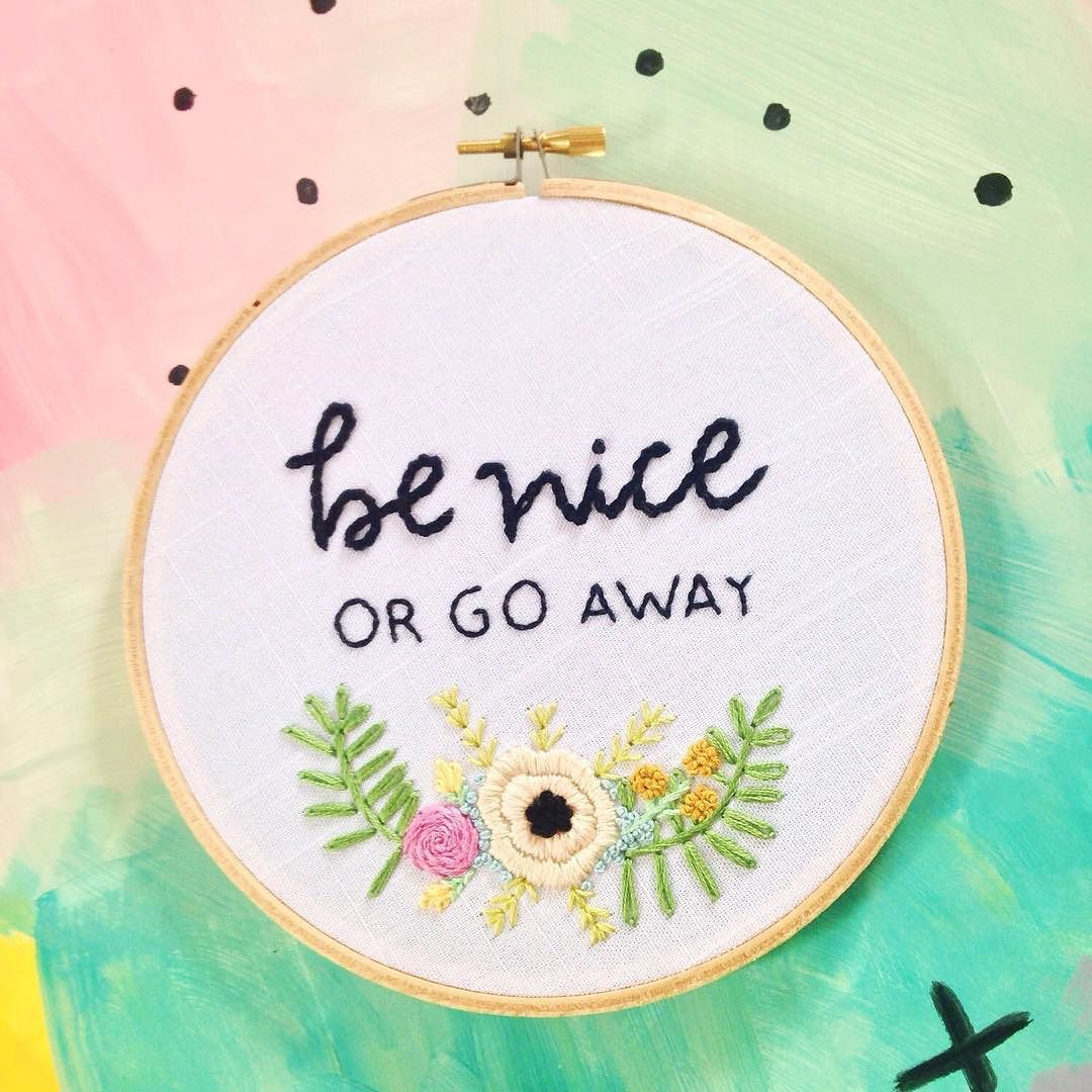 I just.....love this hoop so much  if you feel the same you can find it in my shop  link in bio by rehabbedhandmade
