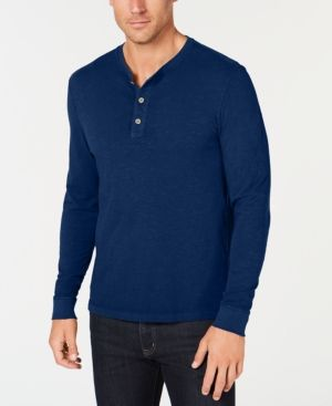 Club Room Men s Garment Dyed Henley, Created for Macy s - Green 3XL ... 9b702e37f61f