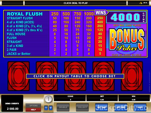 You like to play free casino games? How about 103 Video