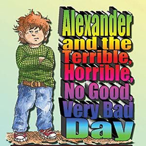 Alexander And The Terrible Horrible No Good Very Bad Day Coloring