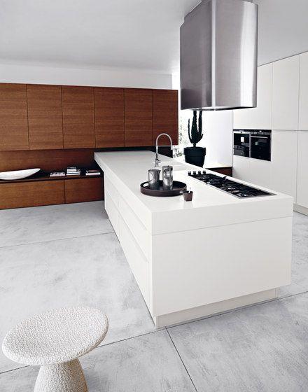 Cocinas integrales Componentes de cocina Lucrezia Cesar - Cocinas Integrales Blancas