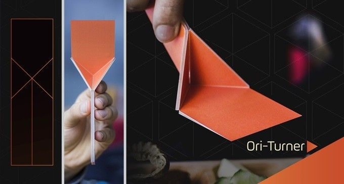 These Compact Origami Inspired Kitchen Utensils Will Free Up Lots