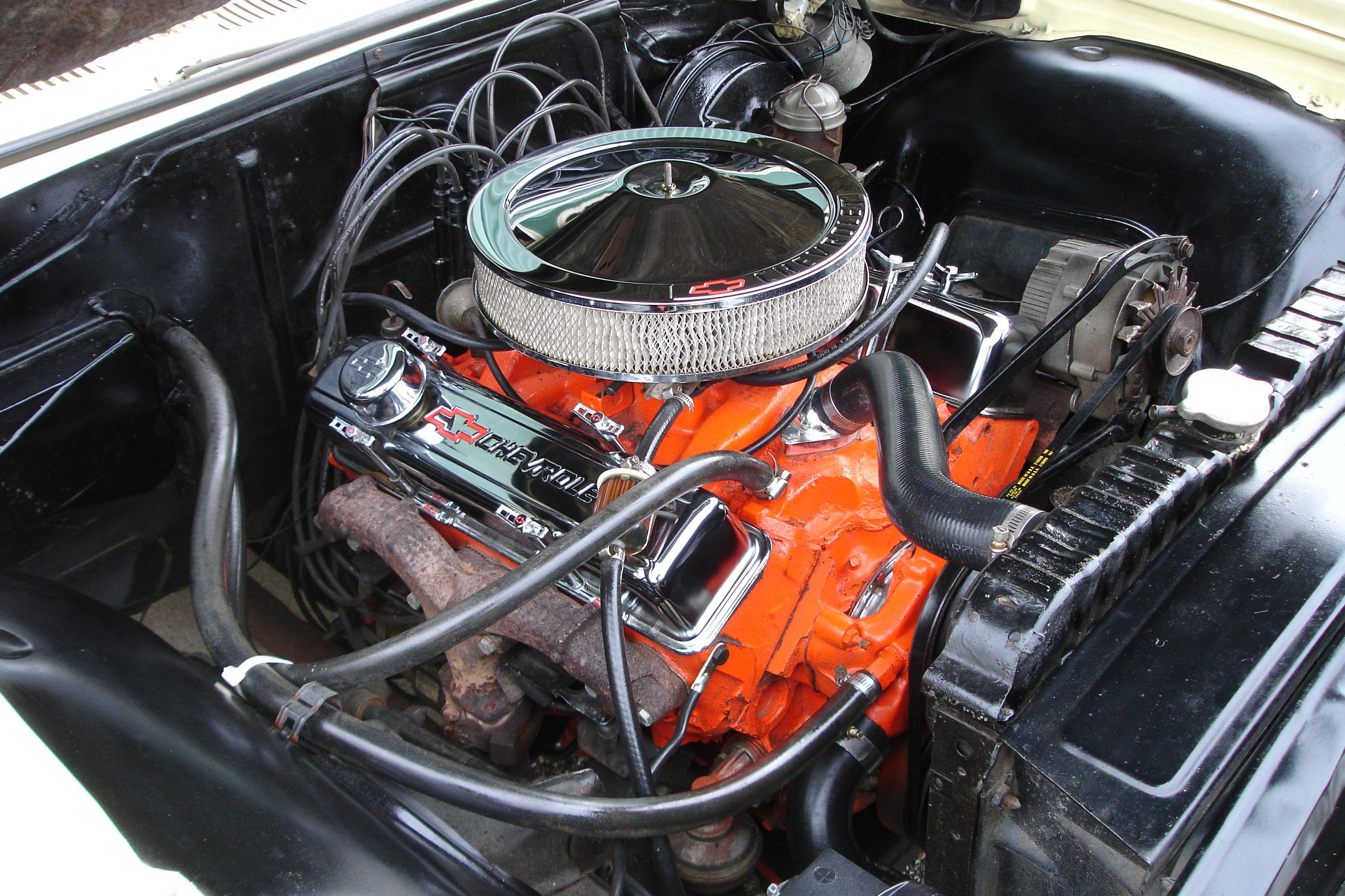 350 Sbc Engine Prior To Upgrades Chevrolet Impala Dream Cars Impala