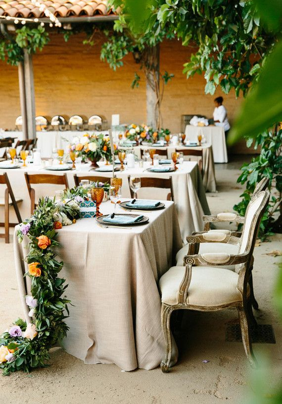 spanish style wedding sweetheart table wedding tables spanish rh pinterest com