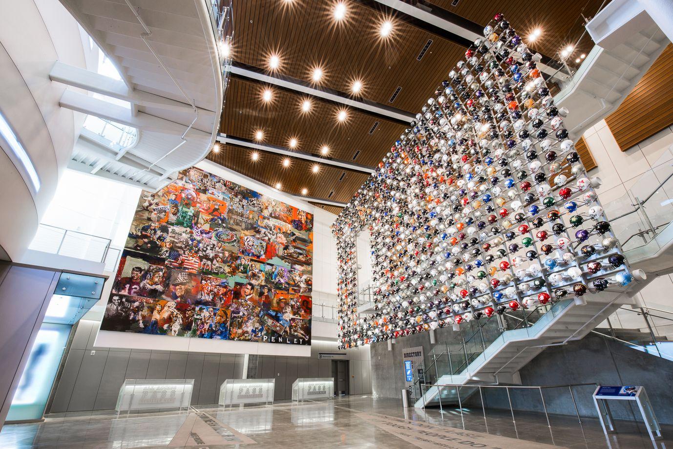 College Football Hall of Fame #tvsdesign http://bit.ly/1N8JUvP Atlanta sports architecture design