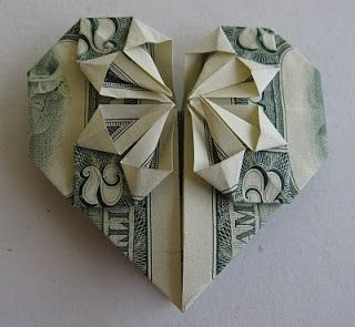 How to Make an Origami Heart | 295x320