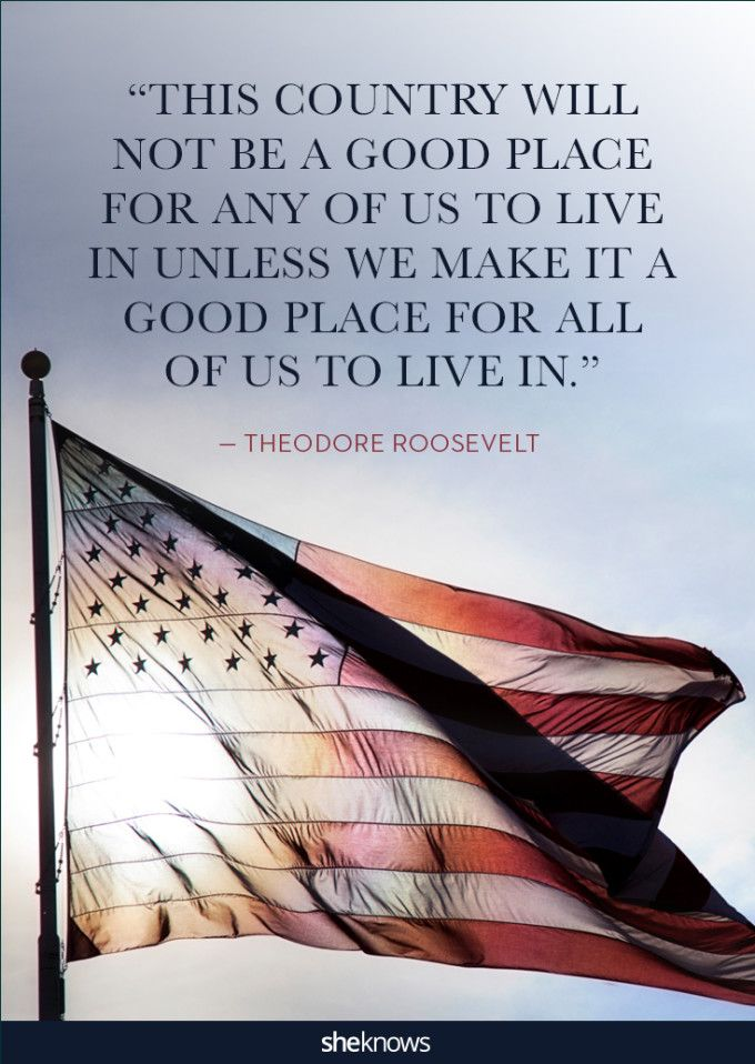 Patriotic Quotes Inspiration 25 Quotes About America That'll Put You In A Patriotic Mood  Idea