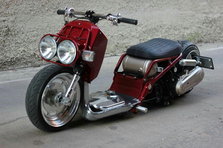 травмы считаются кастом скутеры фото веска