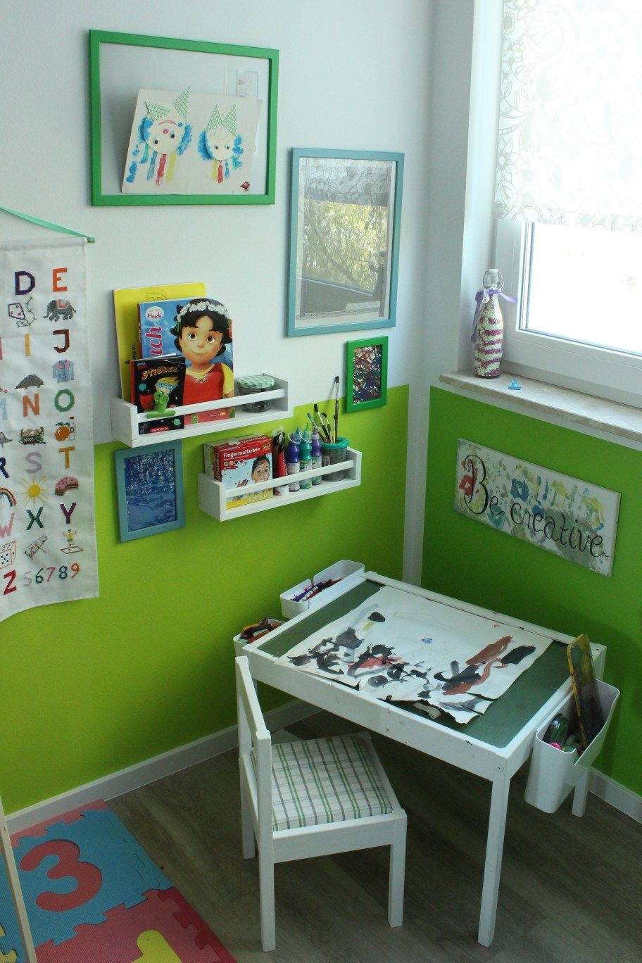 DIY Kreativ & Malecke im Kinderzimmer Kinder zimmer