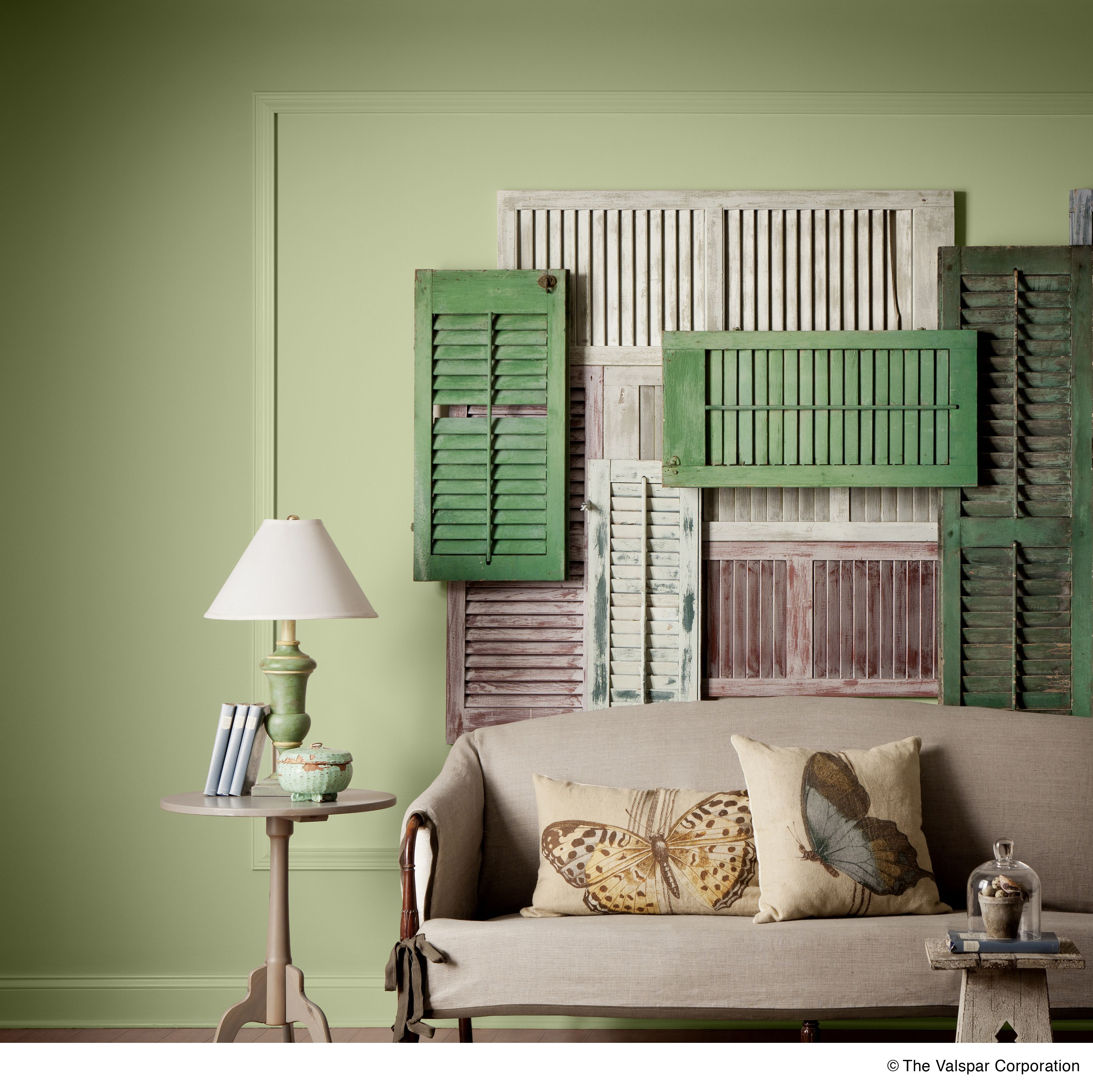 Great Room Color, Valspar's Blanched Thyme
