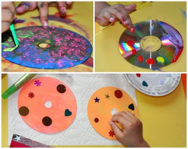 Mother S Day Crafts Upcycle A Cd For An Out Of This World Gift