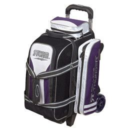 Storm 2 Ball Rolling Thunder Bowling Bags Purple And Black Purple Bags