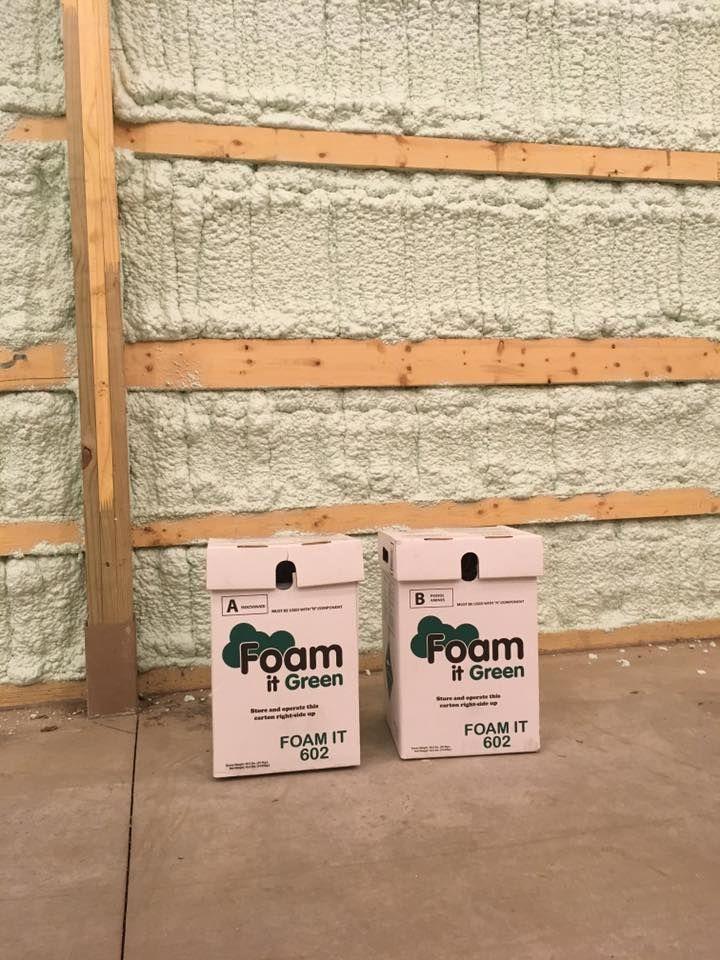 Closed cell spray foam insulation kits foam it green 602