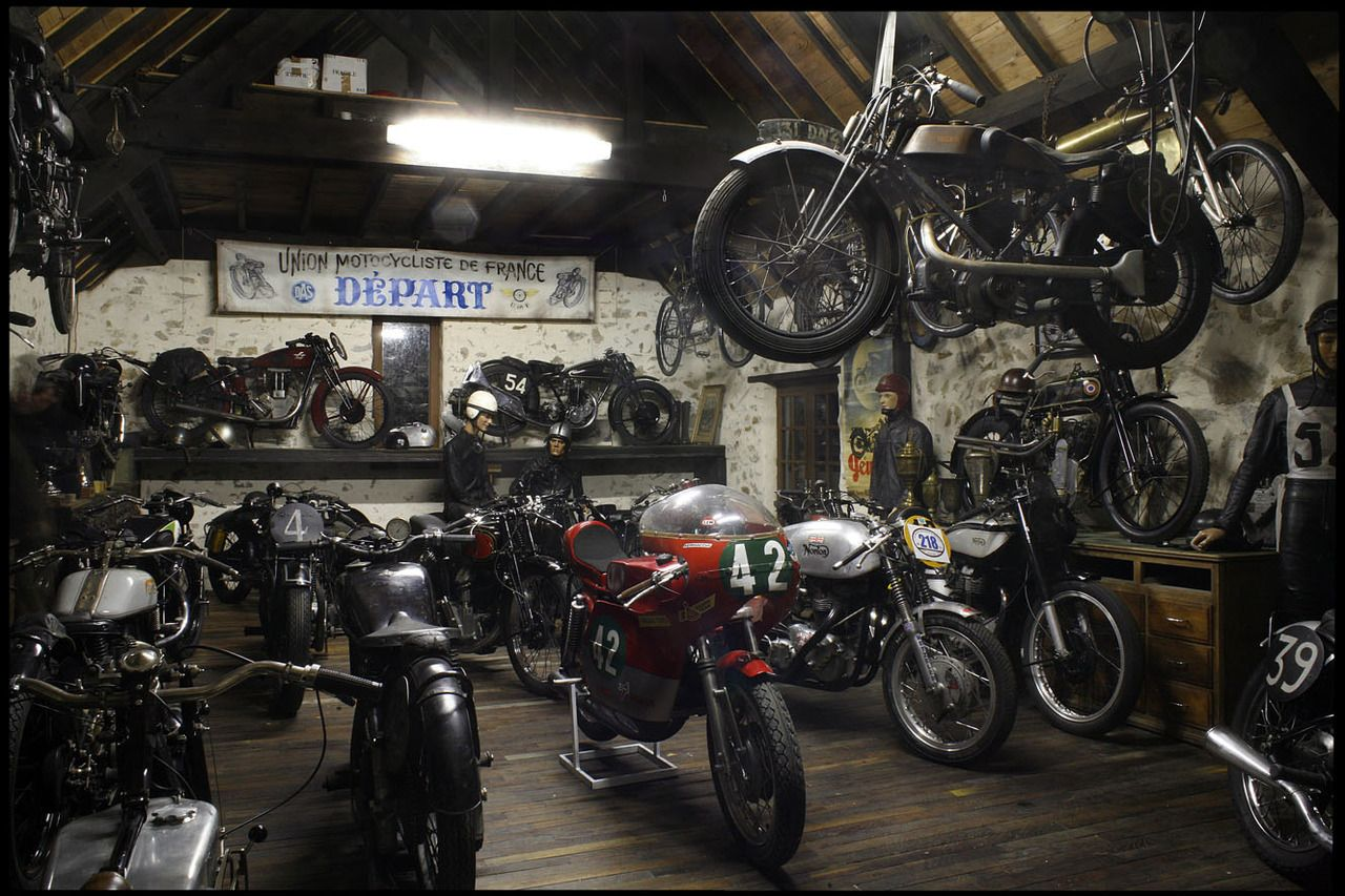 Motorcycle Man Cave Garage : Backyards best man cave garage ideas your dream floor motorcycle