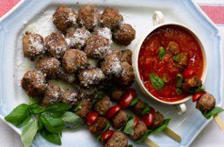Gennaro Contaldo: Gennaro Contaldo's meatballs.  'Meatballs are comfort food to me whether they are pla...