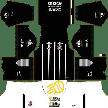 Corinthians Dream League Soccer Camisetas Soccer Kits