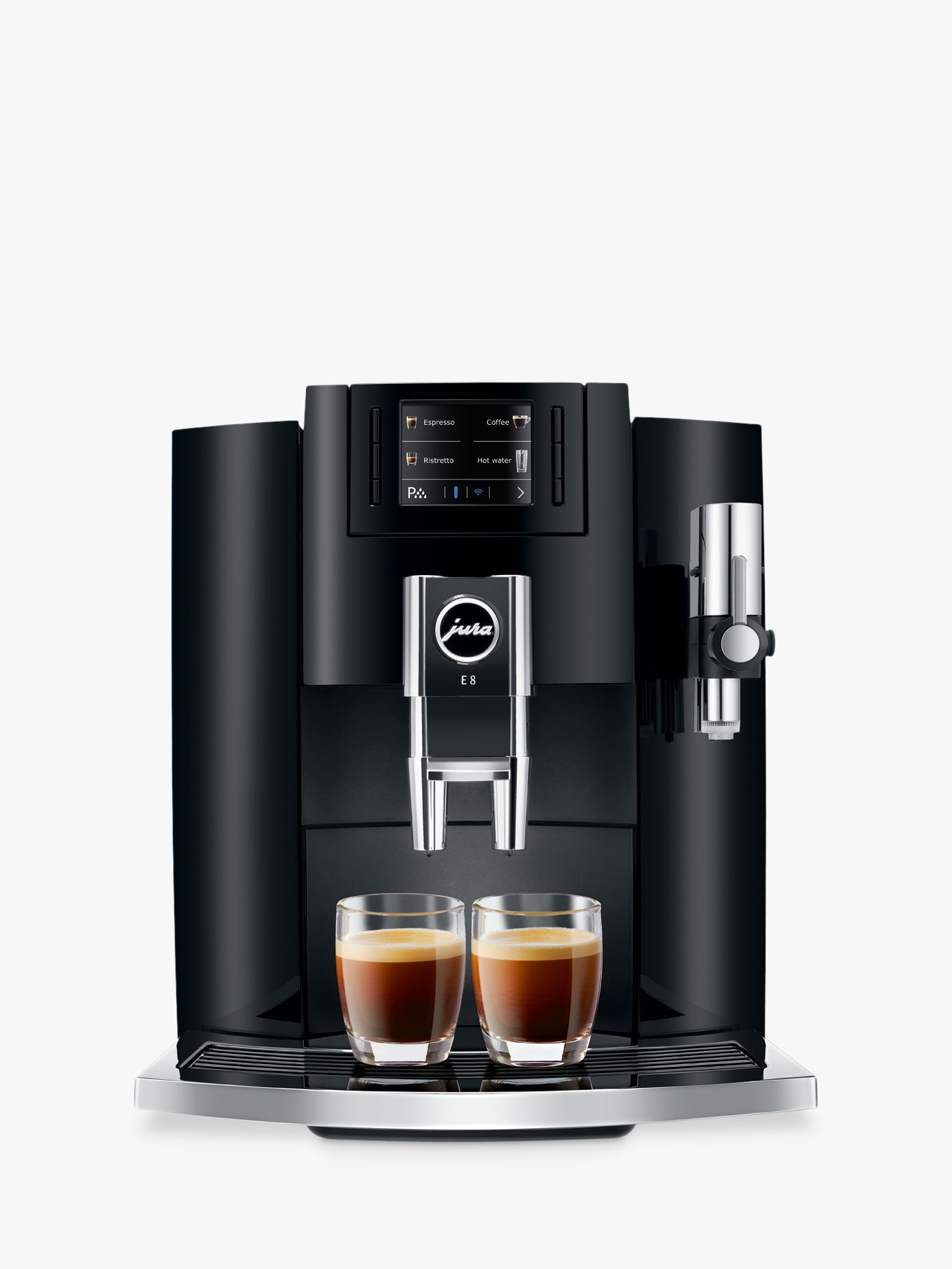 Jura e8 beantocup automatic coffee machine automatic