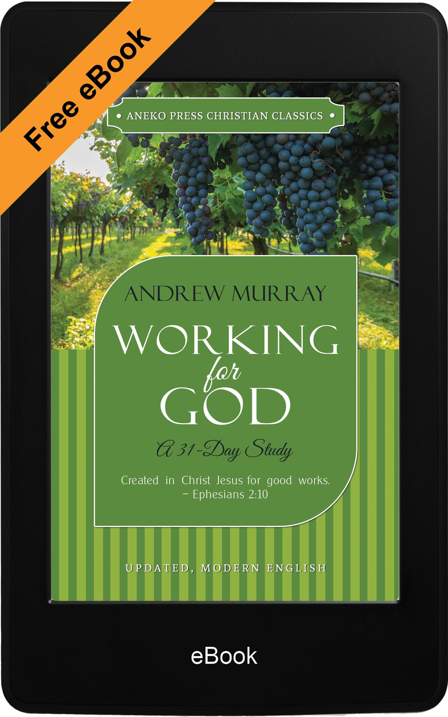 Working for God (eBook) | Free Christian ebooks for kindle