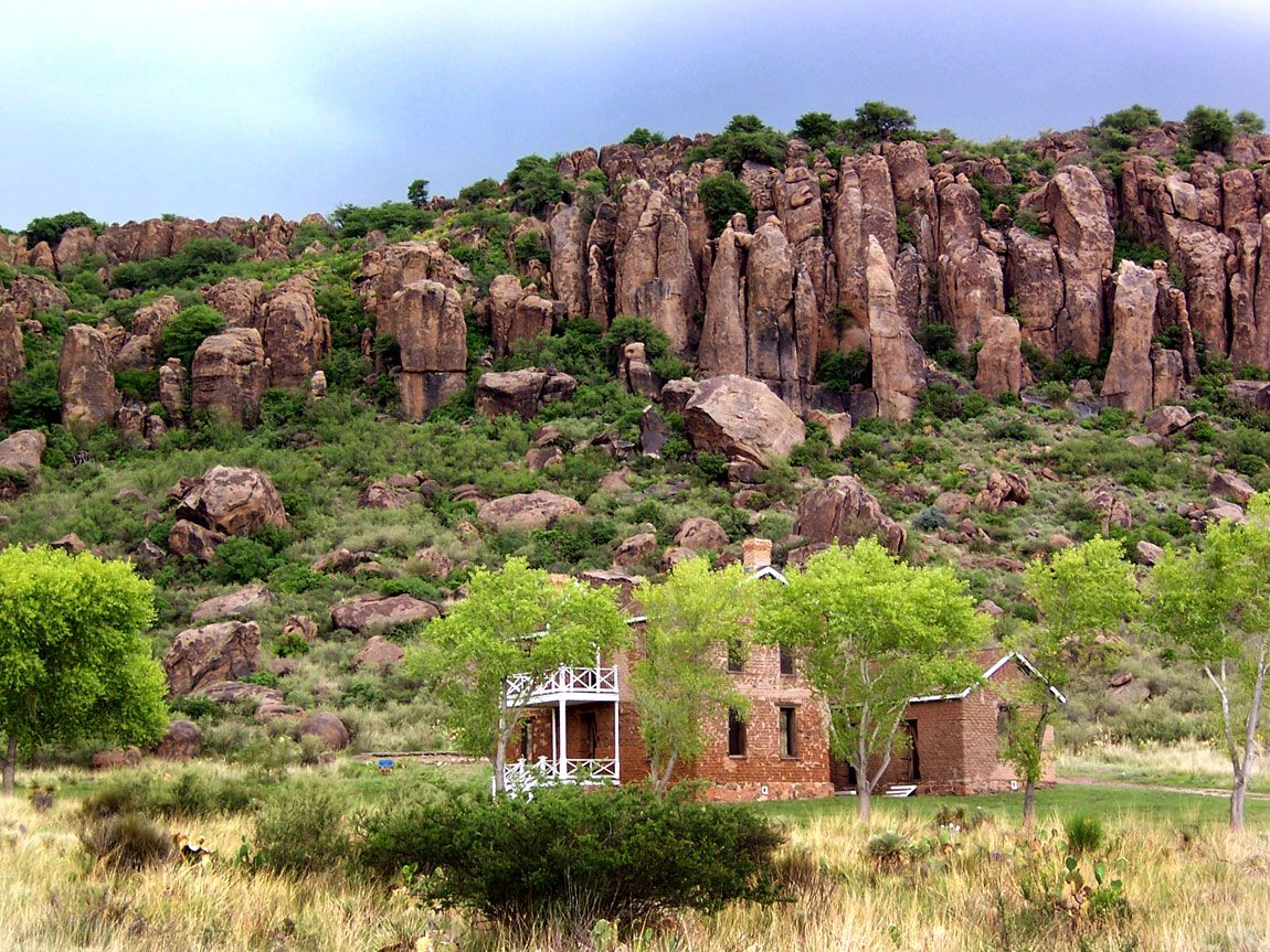 Fort Davis Tx >> Fort Davis One Of The Best Preserved Surviving Indian