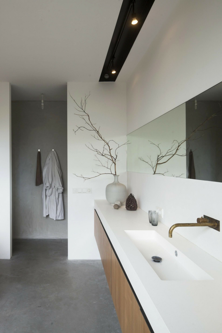 Know The 9 Best Bathroom Flooring Options For Your Home Bathroom Interior Minimalist Bathroom Design Bathroom Inspiration