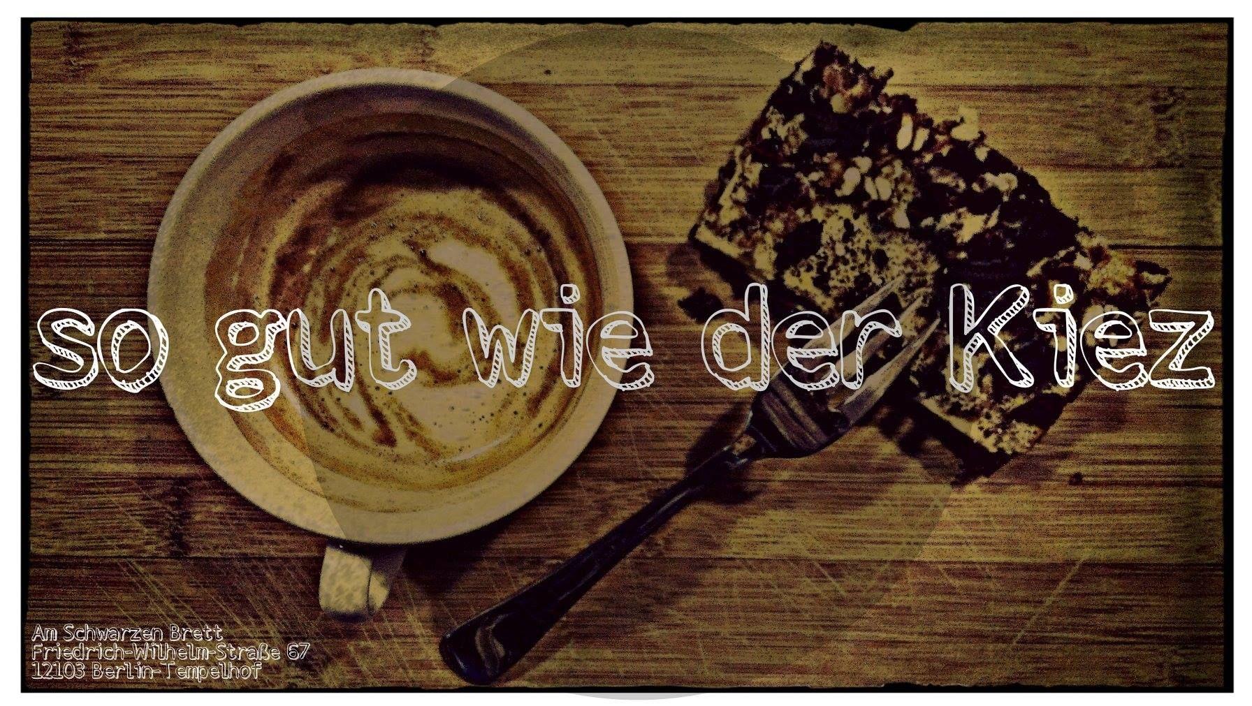 Café Am Schwarzen Brett, Berlin-Tempelhof.