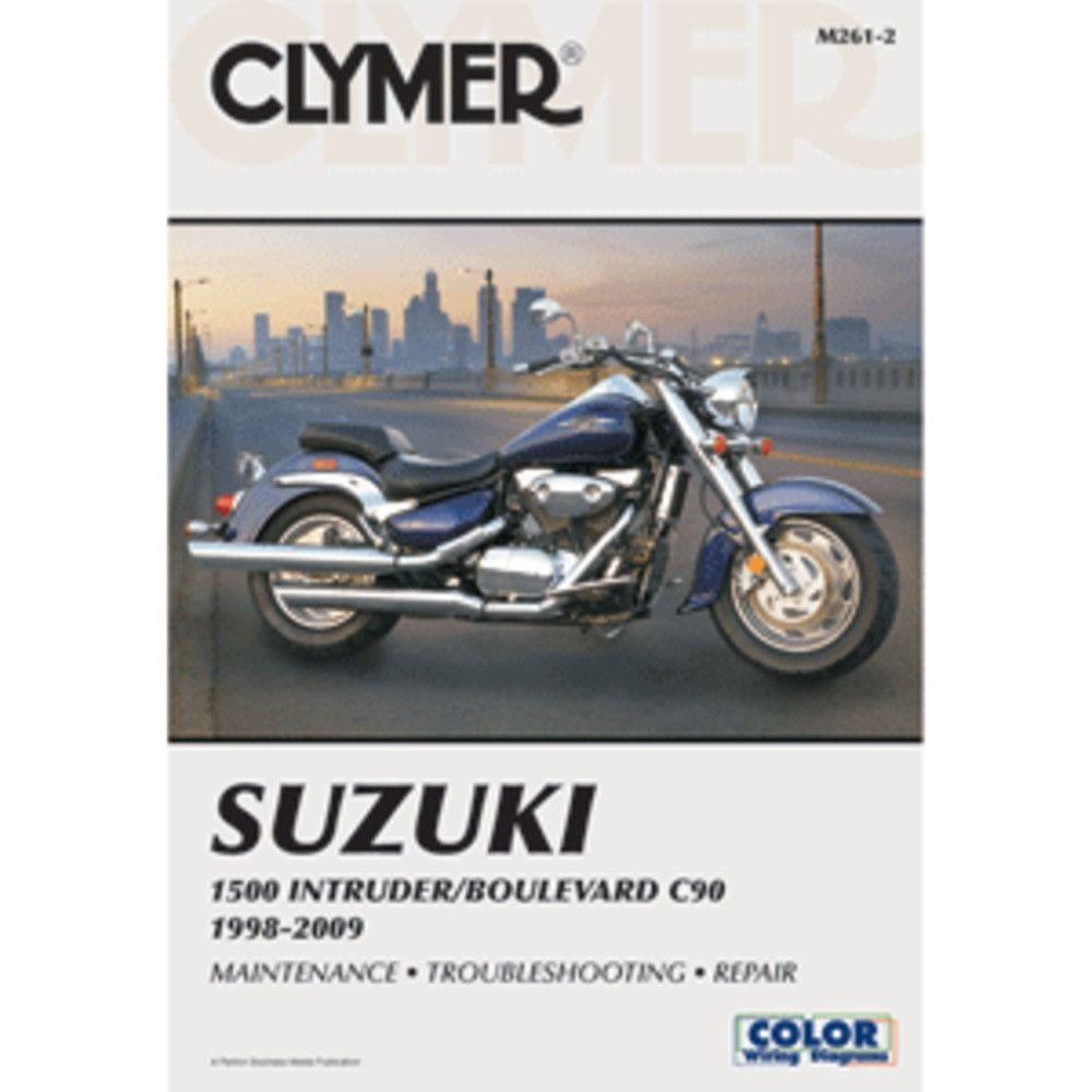 Clymer Suzuki 1500 Intruder