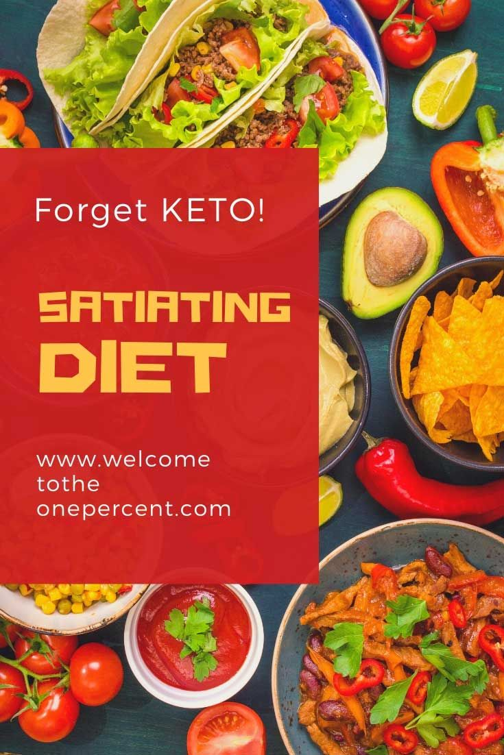 The Satiating Diet - Forget Keto | Special diet recipes ...