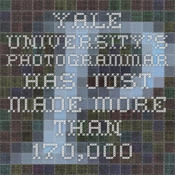 Yale University's Photogrammar has just made more than