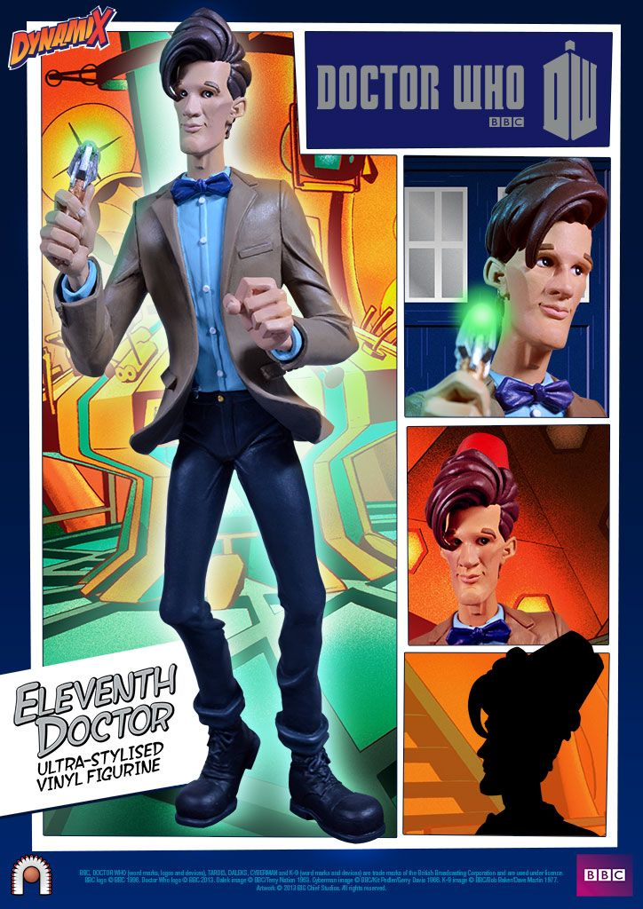 Eleventh Doctor Limited Edition Figure Doctor Who Eleventh Doctor 11th Doctor