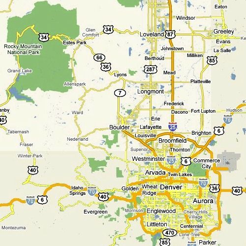 colorado park Google Search ART217 Map Harrison
