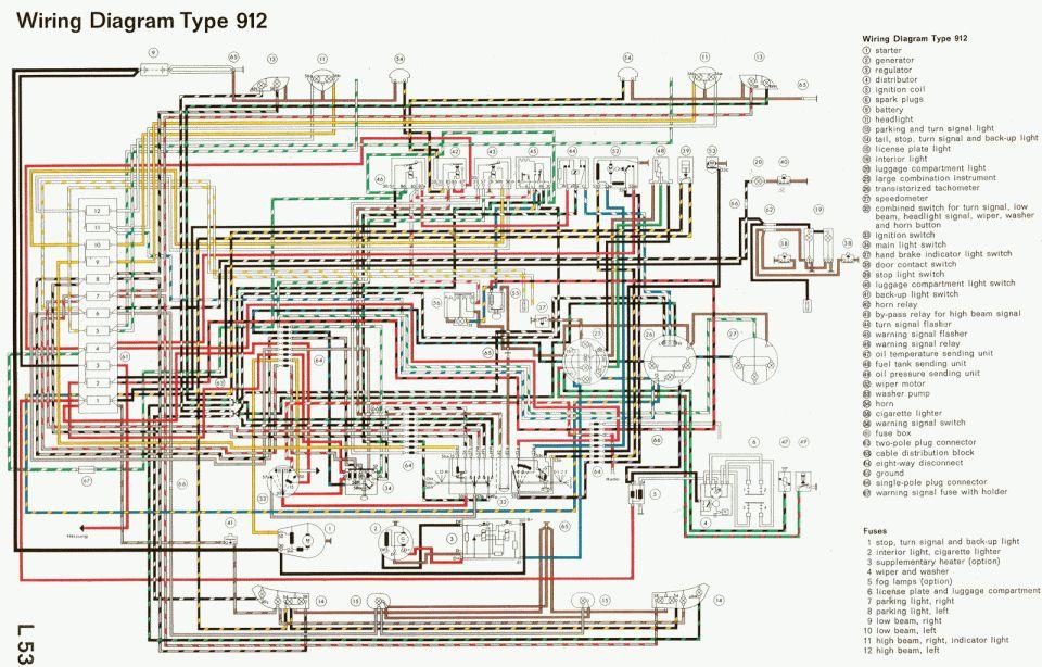 17+ Porsche 914 Engine Wiring Diagram - Engine Diagram - Wiringg.net in  2020 | Electrical diagram, Porsche 911, DiagramPinterest