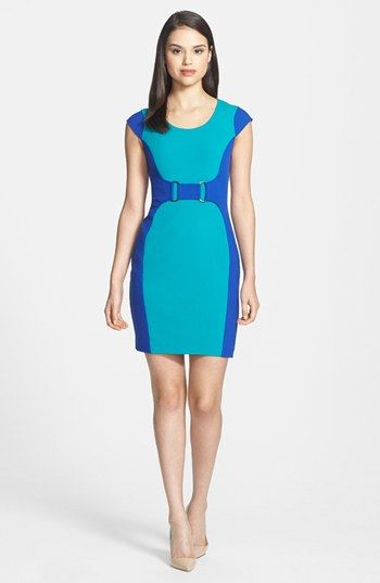 Marc New York by Andrew Marc Colorblock Sheath Dress (Regular & Petite) available at #Nordstrom