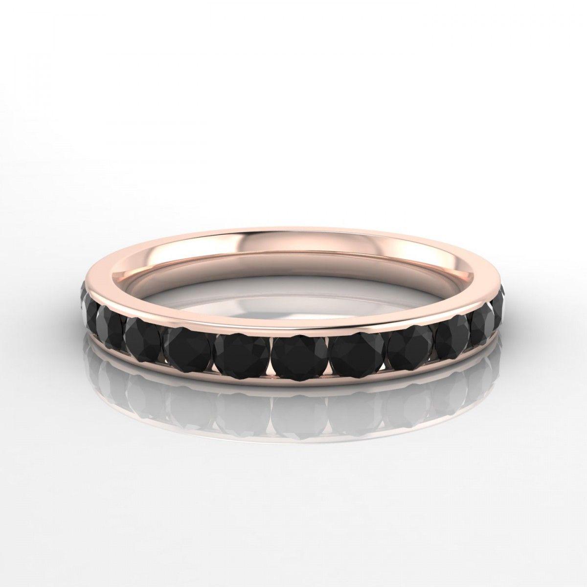 Super Concordance Bague Diamant noir en Or rose 18k | Mode | Pinterest  TD71