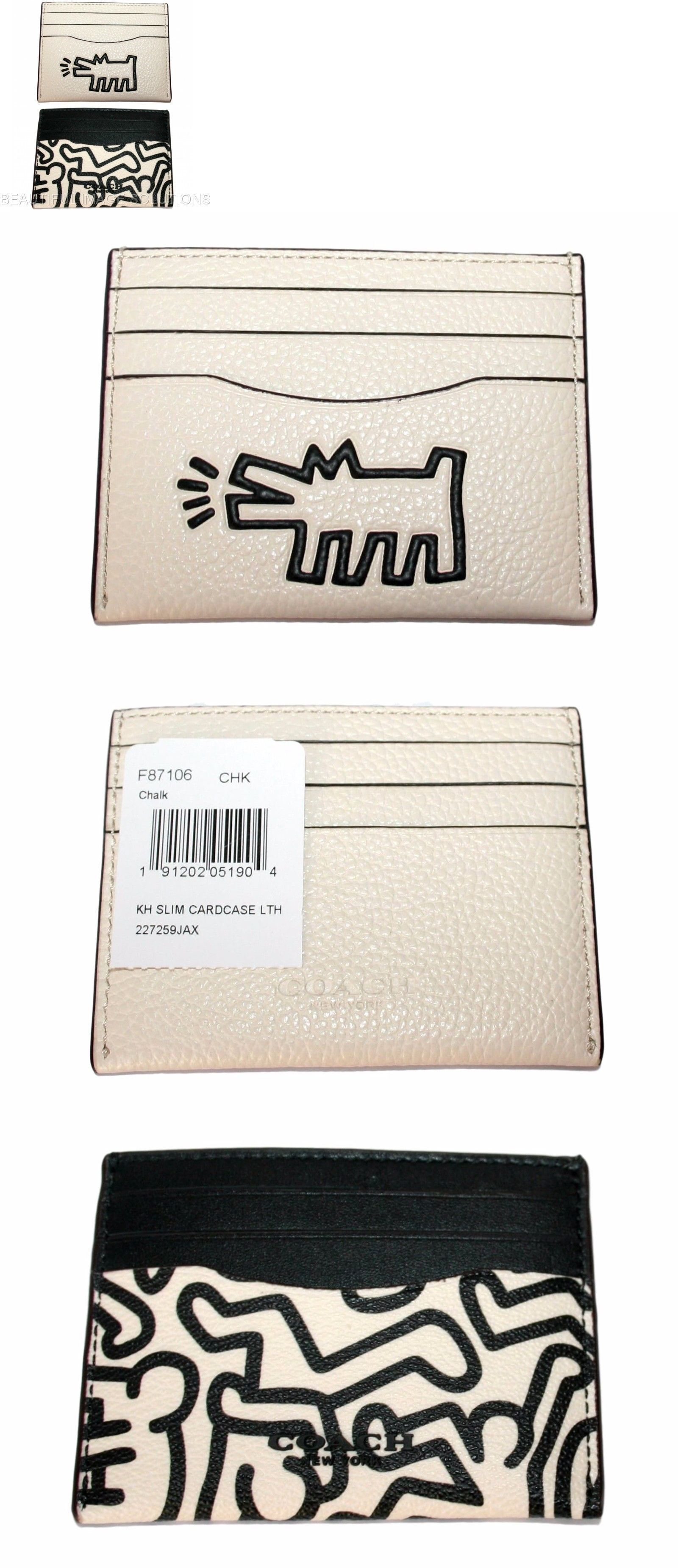 Business and Credit Card Cases 105860: Coach Limited Edition Keith ...