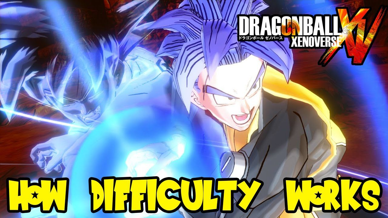 Dragon Ball Xenoverse How Difficulty Settings Work Leveling Up
