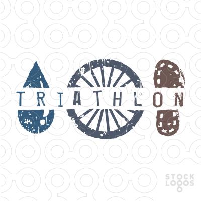 exclusive customizable logo for sale triathlon sports event rh pinterest nz triathlon logos design triathlon logo clip art