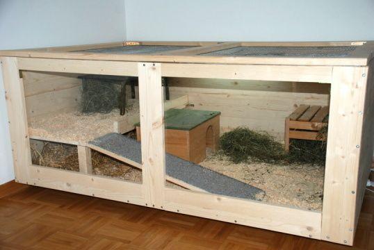 Bauanleitung Fur Ein Vivarium 6 Eckig Meerschweinchen Gehege Kaninchengehege Kaninchenstall Selber Bauen