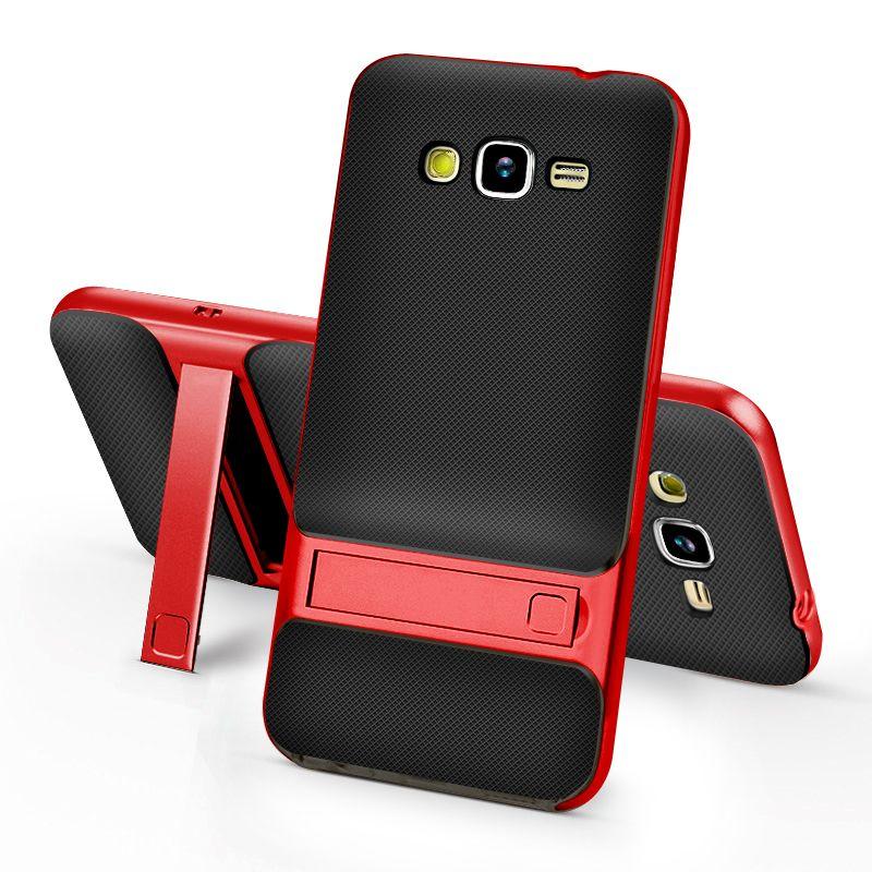 Tpu Pc Case For Samsung J2 Prime Original Holder Series Luxury Kickstand Case For Samsung Galaxy J2 Prime Pho Samsung S7 Cases Transparent Phone Case Kickstand