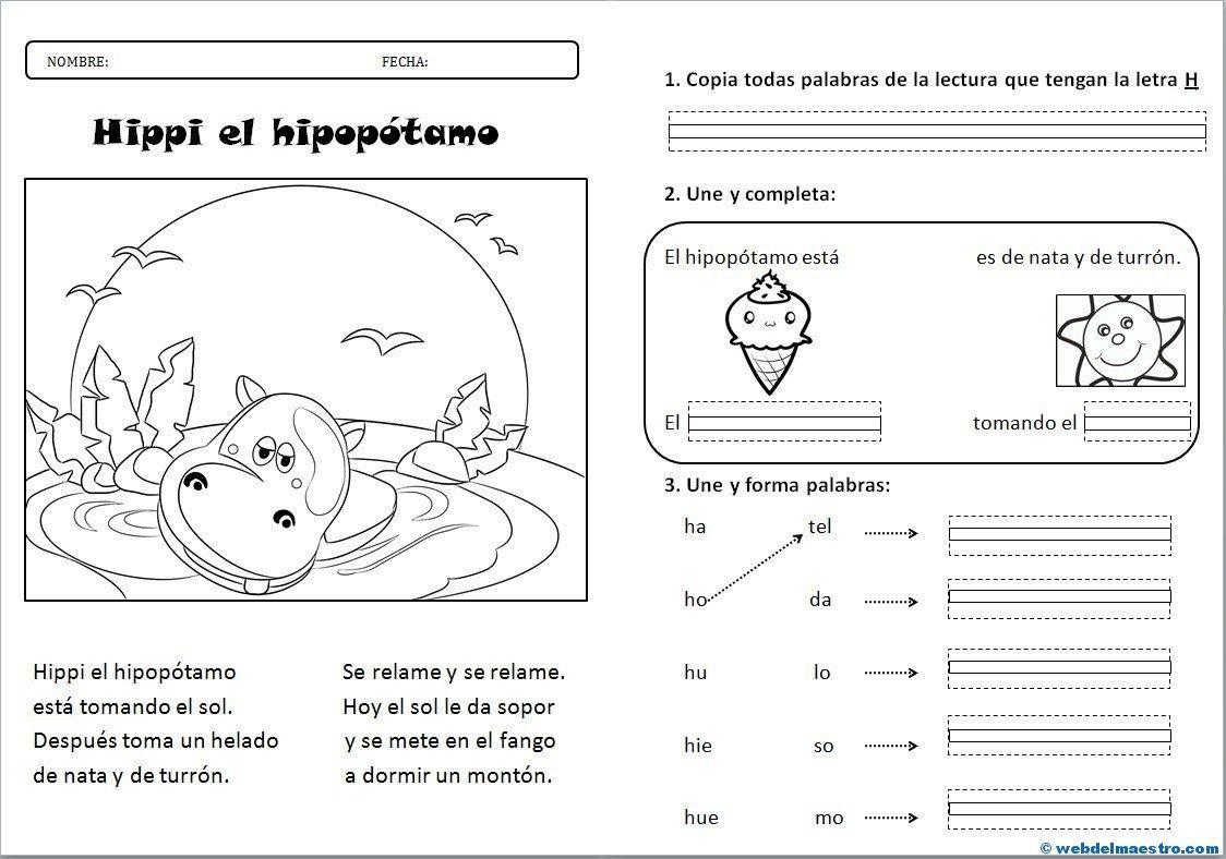 Lectura Comprensiva Archives Página 2 De 3 Web Del Maestro Actividades De Letras Actividades De Escritura Lectura De Palabras