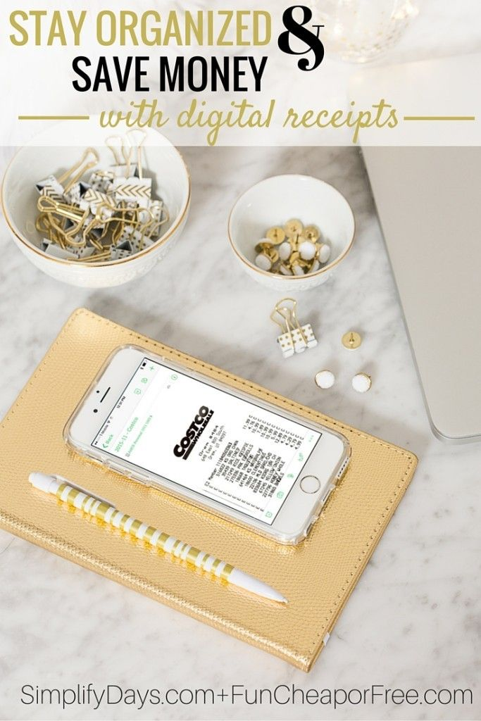 How to Stay Organized and Save Money with Digital Receipts - money receipts
