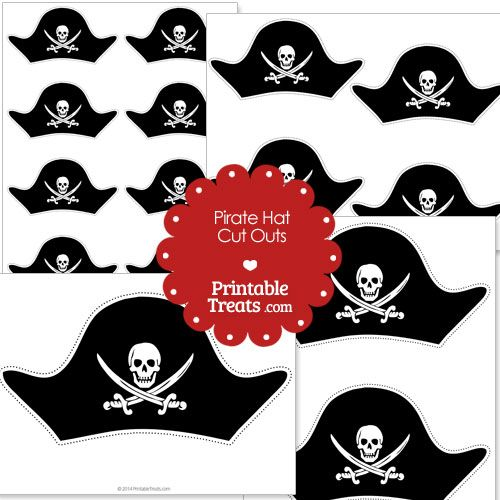 image relating to Printable Pirate Hats known as Printable Minimize Out Pirate Hat in opposition to