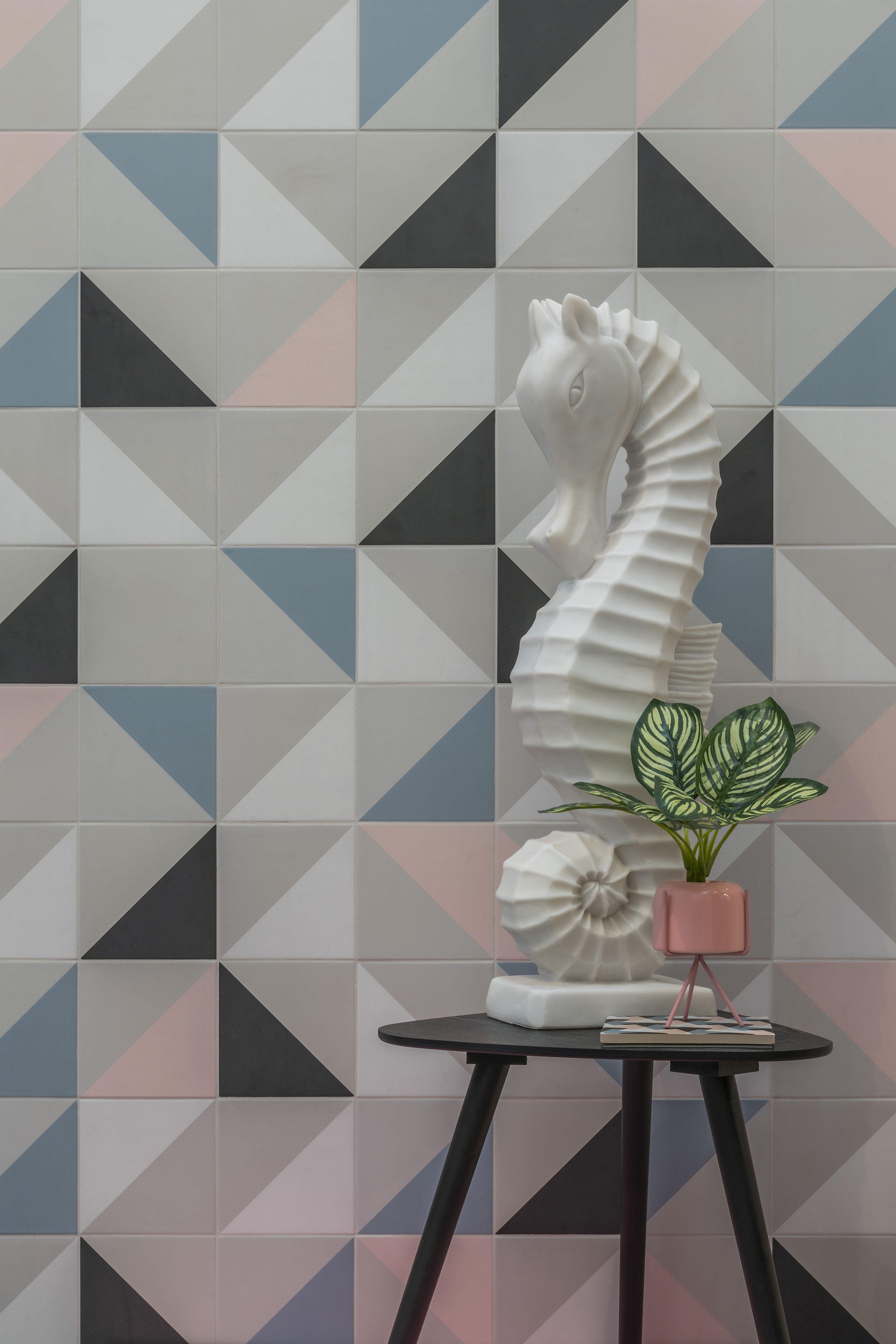Futura Tiles By 41zero42 At Tilestyle Pink Tiles Colorful Wallpaper Tiles