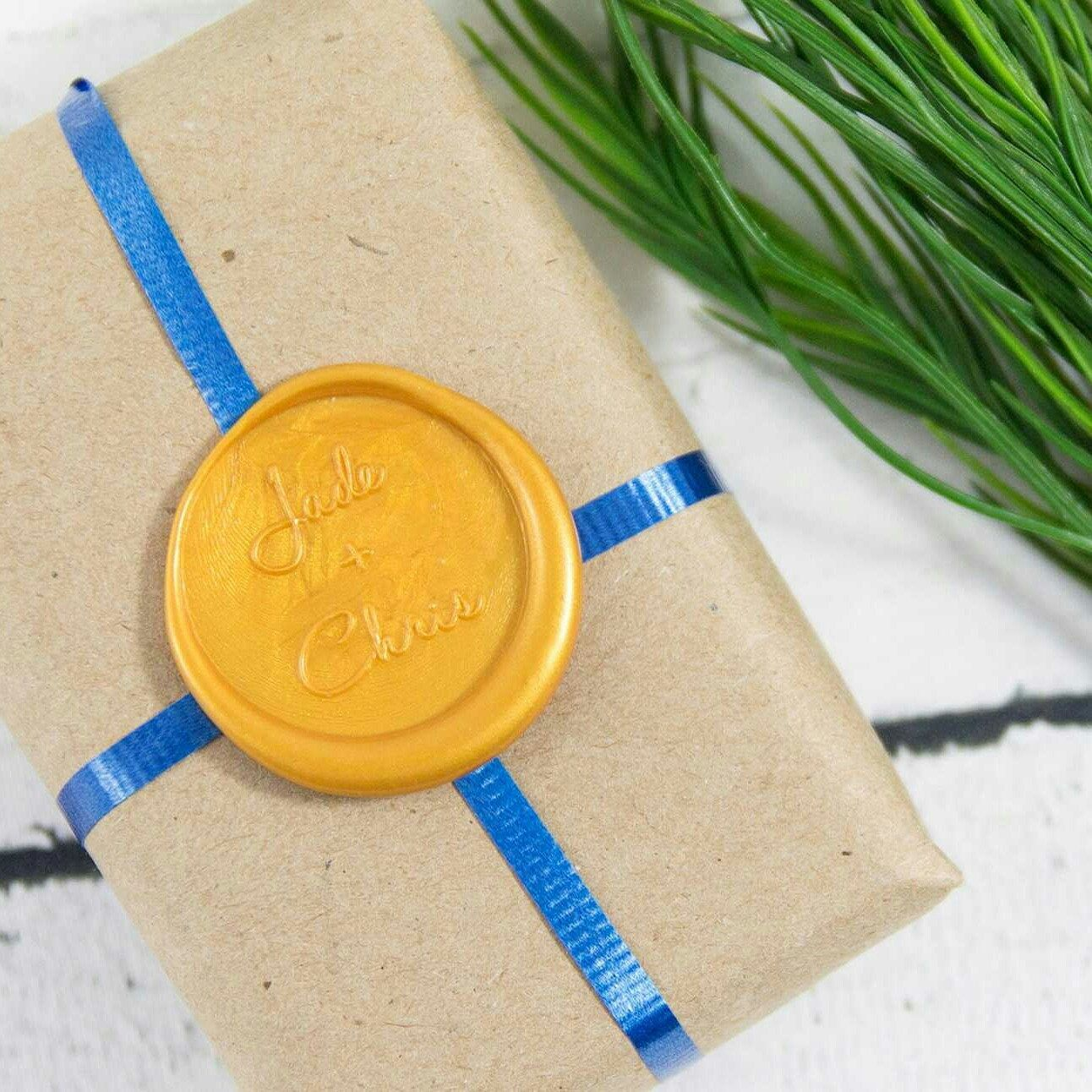wedding wax seal stamp  amazoncom brass wax seal stamp pineapple h business stamps office