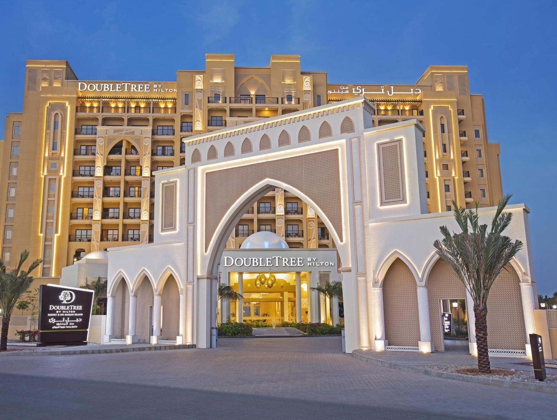 Ras Al Khaimah Doubletree By Hilton Hotel Resort And Spa Marjan Island United Arab Emirates Middle East Doubletree By Hilton Hilton Hotel Hotel Ras Al Khaimah