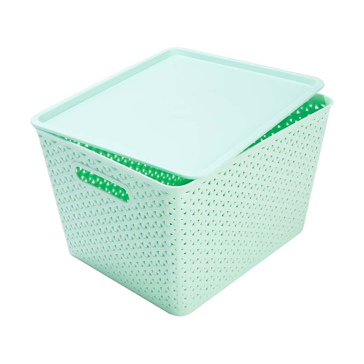 Storage Container Mint Home Co Woven Look Storage Containers With Drawers Storage Bins Cleaning Storage