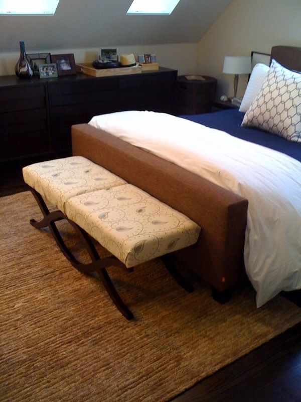 Superb Diy X Bench Makeover In The Bedroom Bed Bench Foot Of Ibusinesslaw Wood Chair Design Ideas Ibusinesslaworg