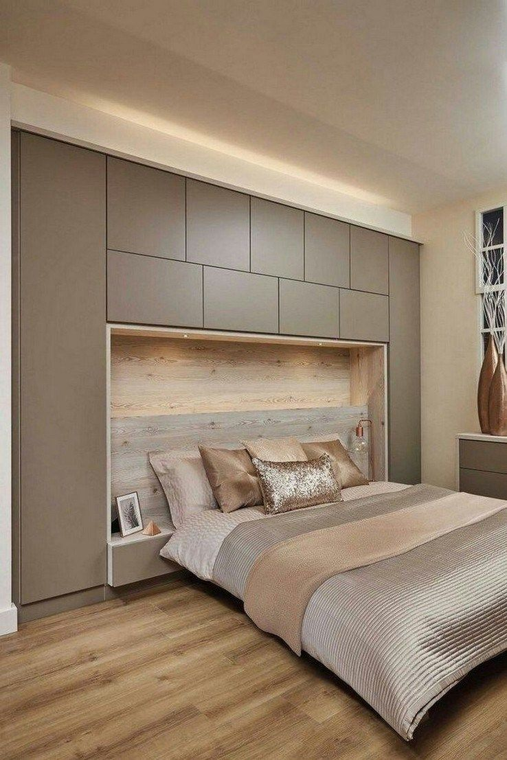 20+ Gorgeous Bedroom Cabinet Ideas For Home Inspiration 14